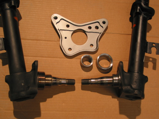 Front Brake Adapter Parts