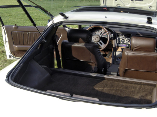 Interior from Rear Hatch